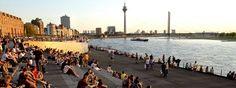 Sehenswertes: Der Rhein in Düsseldorf. / Sights like the river Rhine in Duesseldorf.    © Düsseldorf Marketing & Tourismus GmbH