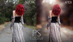 Photoshop Tutorial : Transform Normal Photo To Amazing photo