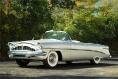 Packard Panther ever built. The fully restored 1954 convertible