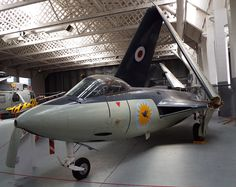 Hawker Sea Hawk FB5 1953 Imperial War Museum Duxford Aeroplanes, World War Two, Military Aircraft, Museums, Fighter Jets, Aviation, Two By Two, Forget, Arm