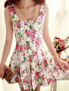 cute dress for summer -- lengthen a bit, but spot on.