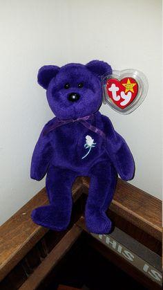 Beanie Babies Value, Rare Beanie Babies, Beanie Baby Bears, Ty Beanie Boos, Girl Doll Clothes, Girl Dolls, Princess Diana Beanie Baby, Ty Babies, Neon Room