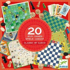 Djeco - gezelschapsspellen - Classic Box 6-99jr  #toys  #djeco #sinterklaas #littlethingz