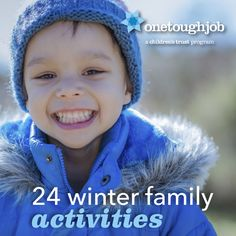 Just because it's cold outside doesn't mean that you and your kid can't have a great time indoors! Here are some fun and easy activities to keep your munchkins moving.
