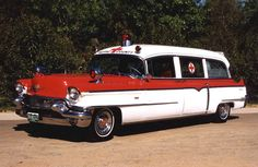 1956 Cadillac ambulance.