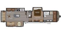 2017 Montana 3911FB Floor Plan
