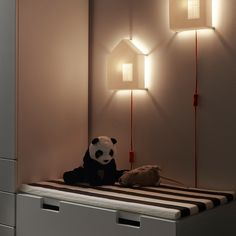 Children love the playful design and the cozy light it provides when lit. Our children's lighting products go through some of the toughest safety tests in the world so you can be sure your child is safe. Nursery Lighting, Kids Lighting, Ikea Wall Lights, Ikea Planters, Hippie Baby, Wall Light Fixtures, Night Light, Bulb, Design