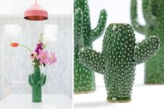 NICA´S WEEKLY INSPIRATION | cactus style! All about cactus on the blog. Cactus vase from Serax Belgium, beautiful picture from Zilverblauw.nl.