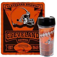 Cleveland Browns Mug and Snug Blanket Set - $34.99