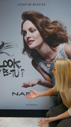 Leighton Meester pour Naf Naf