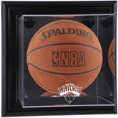 New York Knicks Fanatics Authentic Black Framed Wall-Mountable Team Logo Basketball Display Case