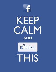 Keep Calm and #Facebook http://www.facebook.com/pages/Josefina-Love-Accesorios/437428219644167 #Like #Fanpage