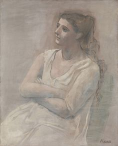 Picasso in The Metropolitan Museum of Art: Woman in White, 1923