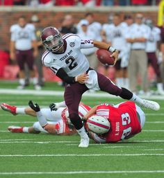 Week four SEC action includes the SMU Mustangs vs Johnny Manziel and the Texas Aggies