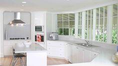 cpmo decorar una cocina de blanco