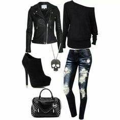 25 rocker chic winter outfits you will love, WİNTER OUTFİTS, 25 rocker chic winter outfits you will love - 25 rocker chic winter outfits you will love. Cute Emo Outfits, Punk Outfits, Hipster Outfits, Teen Fashion Outfits, Mode Outfits, Emo Fashion, Tomboy Outfits, Cute Emo Clothes, Fashion Boots
