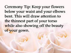 I have seen David Tutera tell so many brides to do this!  www.celebrationsofmarriage.com