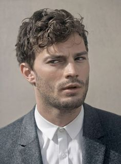 Jamie Dornan is sceptical.