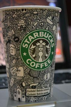 coffe starbucks illustration