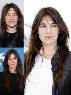 Charlotte Gainsbourg Charlotte Gainsbourg, Serge Gainsbourg, Bardot Bangs, Growing Out Bangs, French Beauty, Jane Birkin, Grow Out, Cool Style, Hair Beauty