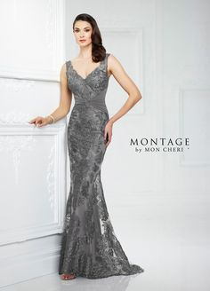 217942 Mother of the Bride dress from the 2017 collection by Montage by Mon Cheri. Available in Canada at Heirlooms Bridal Shoppe (Dundas), Ethos Bridal Group (Calgary), 7th Avenue Fashions (Winnipeg), Mode Brigitte (Sherbrooke), ...