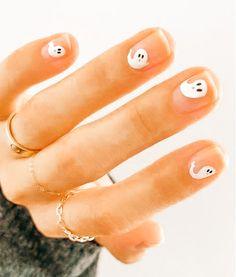 Colorful Nail, Fall Acrylic Nails, Autumn Nails, Cute Nails, Pretty Nails, Hair And Nails, My Nails, Cute Halloween Nails, Manicure