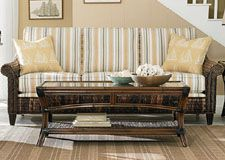 Rattan And Wicker Sleeper Sofas | Island And Florida Sleeper Sofas