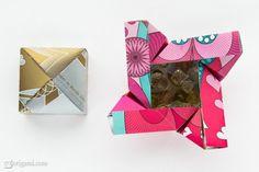 Origami Box (design by Robin Glynn and Carmen Sprung)   Go Origami!