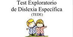 Test Exploratorio de Dislexia Específica (TEDE) EDITABLE
