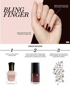 Bling Finger Mani DIY