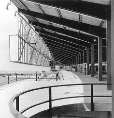 Canòdrom Meridiana. Antonio Bonet Castellana. Barcelona