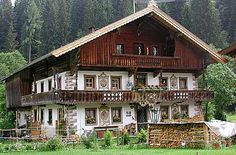 Tyrolean farm house