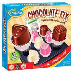 Chocolate Fix-ínycsiklandó logikai játék | Pandatanoda.hu Játék webáruház