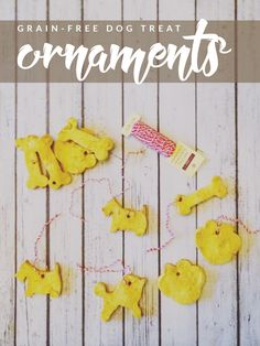 Want to make your dog a healthier alternative to typical treats? These DIY Grain-Free Dog Treat Ornaments are perfect for them and the holiday season!