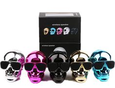 rogeriodemetrio.com: SKULL Wireless Bluetooth Speaker Sunglass NFC