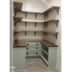 Kitchen Pantry Design, Kitchen Pantry Cabinets, Kitchen Cabinet Organization, Kitchen On A Budget, Kitchen Ideas, Bedroom Organization, Diy Kitchen, Kitchen Pantry Storage, Funny Kitchen