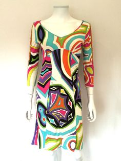 Emilio Pucci Iconic Print Dress / RRP: £1000.00 Approximately