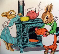 Dishfunctional Designs: The Country Bunny And The Little Gold Shoes