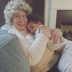 """Ms. Faye With Great GrandDaughter Chloé Chrisley """" CoCo """""""