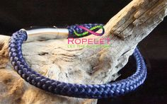 This amazing marine blue Ropelet is waiting to go on your wrist and is part of the new 2016 Spring Collection Ropelet range. Pop by our shop at www.ropelet.co.uk and get yours today, handmade to your order #ropelet #mensfashion #mensbracelet #ropebracelet #bracelet