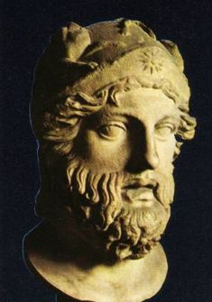 The bust of Xanthippus, who led the Athenians to victory over the Persians at Mycale (479 BC), reveals that the brow-piece of his helmet was adorned with a 16-ray Pan-Hellenic #Vergina Sun burst of #Macedonia and the rest of #Greece.. Xanthippus was the father of Pericles, the great Athenian statesman of the 'Golden Age' of Athens:
