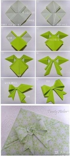 How To Make Butterfly Origami Paper Bows   DIY Tag