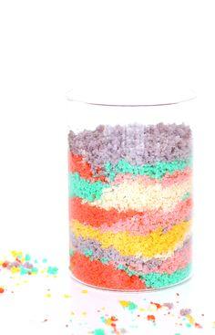 Edible Sand Art (It's Cake!)
