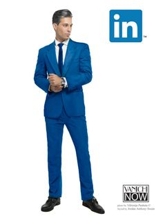 Pin for Later: If Social Networks Were Actually Really Hot Guys LinkedIn = Business