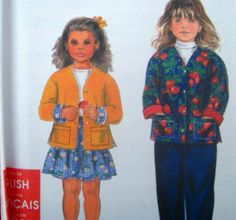 SIMPLICITY Sewing Pattern 7428 2,3,4,5,6 SKIRT PANTS AND JACKET