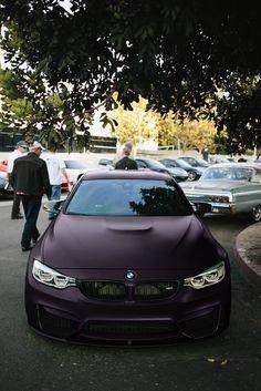 #Matte Purple #BMW
