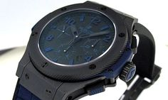 Hublot Bing Bang - All Black and Blue