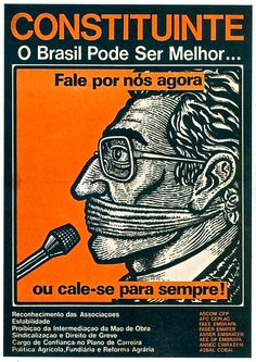 CONSTITUINTE /cartaz 1988