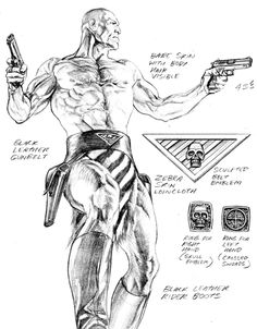 The Phantom character design by Alex Ross. Fuck yes! The Phantom.