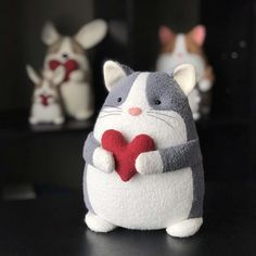 Booper the Cat Free Sewing Pattern Plus Bonus Tiny Patterns!